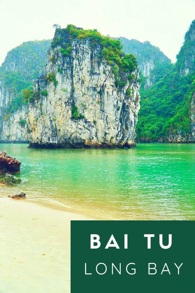 A guide to traveling Bai Tu Long Bay in Vietnam, a great off the beaten path alternative to Ha Long Bay! #halongbay #halong #vietnam #baitulong