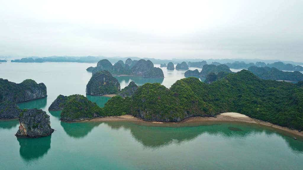 Bai Tu Long Bay, the best part of Ha Long Bay