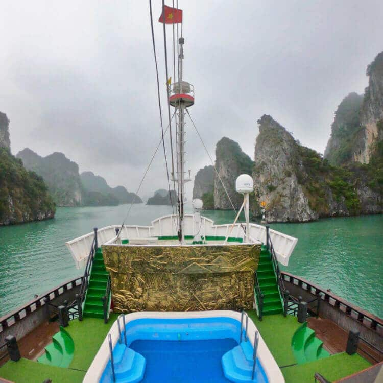 The Dragon Legend 2 - the Best Bai Tu Long Bay Cruise