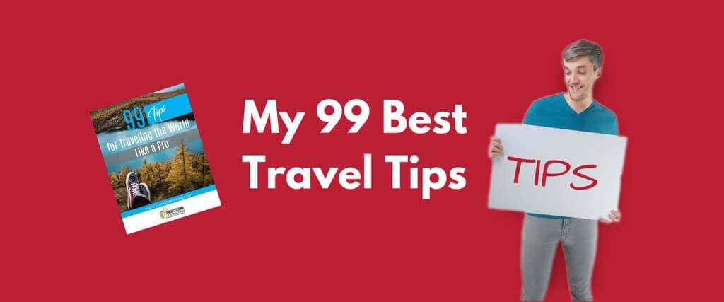 99 Travel Tips