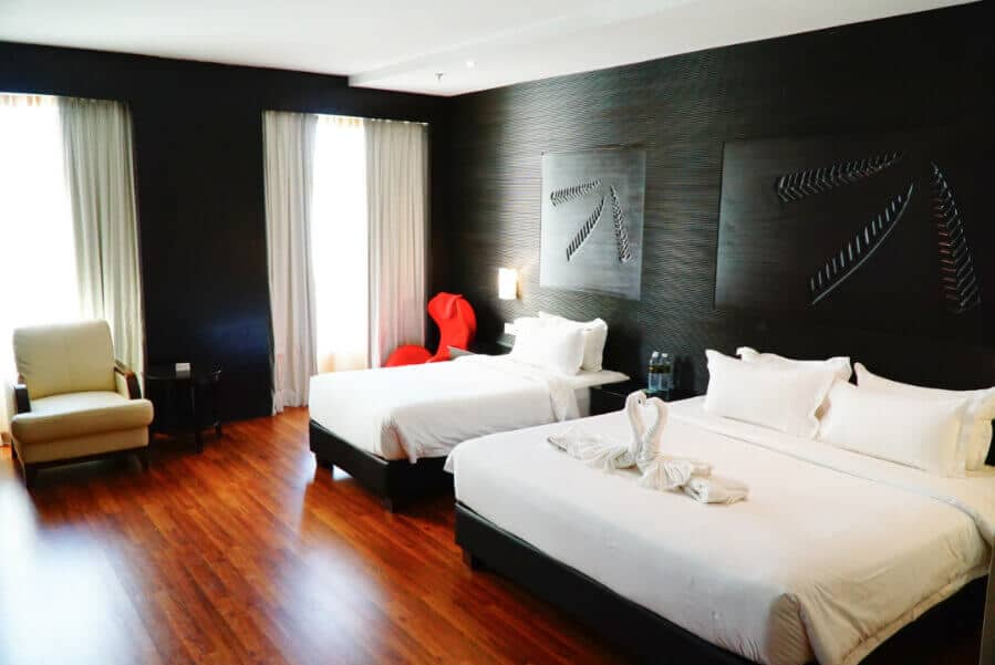 Family rooms at Vouk Hotel in Penang Malaysia