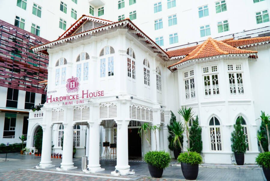 Hardwicke House mansion, attached to Vouk hotel in Penang