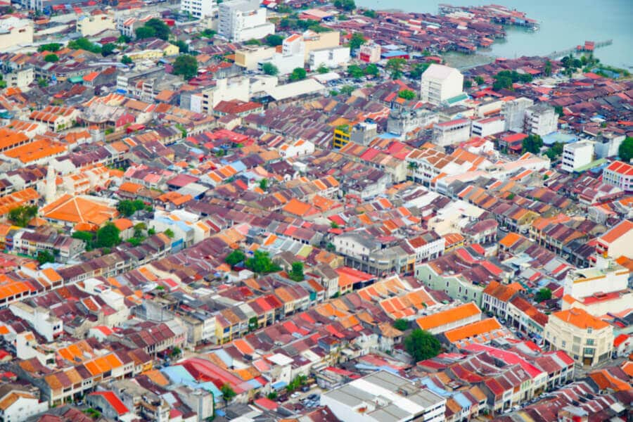 Georgetown is a Top Area to Stay in Penang