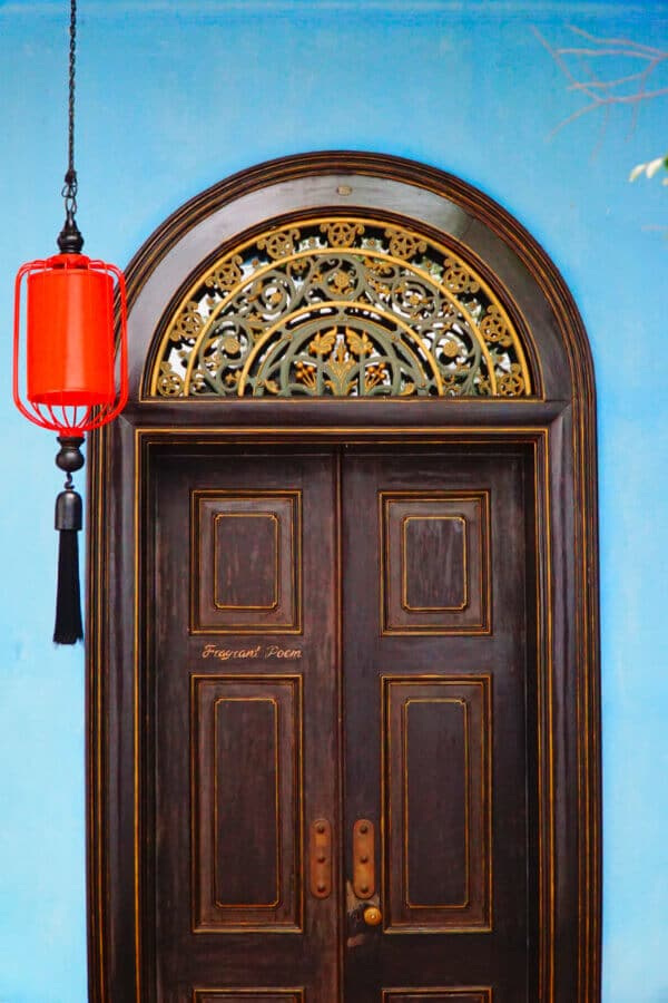 Door at the Blue Mansion Penang