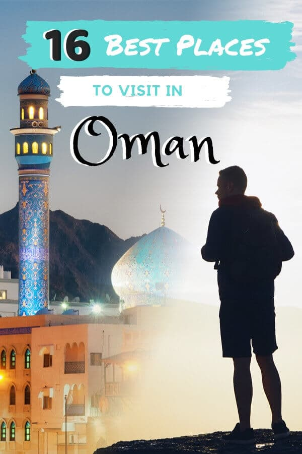 Best Places to Visit in Oman (By a Local!) - Check out these 16 awesome things to do and visit in #Oman. From sea turtles to sand dunes, you won't want to miss out on this amazing country! #Omani #Muscat #travel