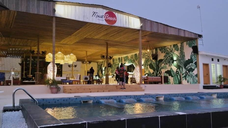Moist Beach Club, A Top Beach Club in Lagos
