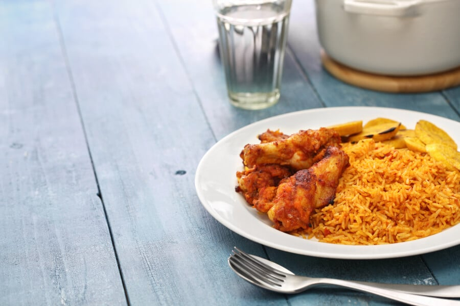 Jollof Rice, a Popular Nigerian Food