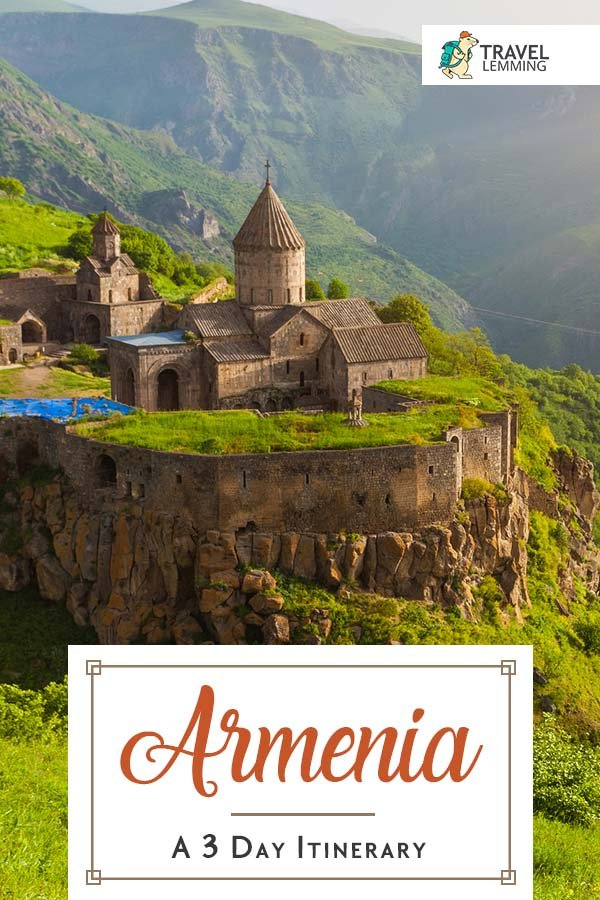 Armenia is a country where you can expect to find hospitable and welcoming people, beautiful arid landscapes, and a vibrant and unique culture. Browse through this #ItineraryGuide to know the best way to make the most out of your three-day trip to #Armenia. #TravelGuide #Yerevan