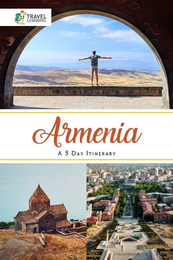 Wondering if #Armenia should be part of your bucket list destination? Here's a 3-day #ItineraryGuide to help you decide. We've included #WhereToStay recommendations, suggested stops to consider, how to get to Armenia if you're traveling from Georgia, as well as important Armenia #TravelTips tom make your trip go more smoothly. #TravelGuide #Yerevan