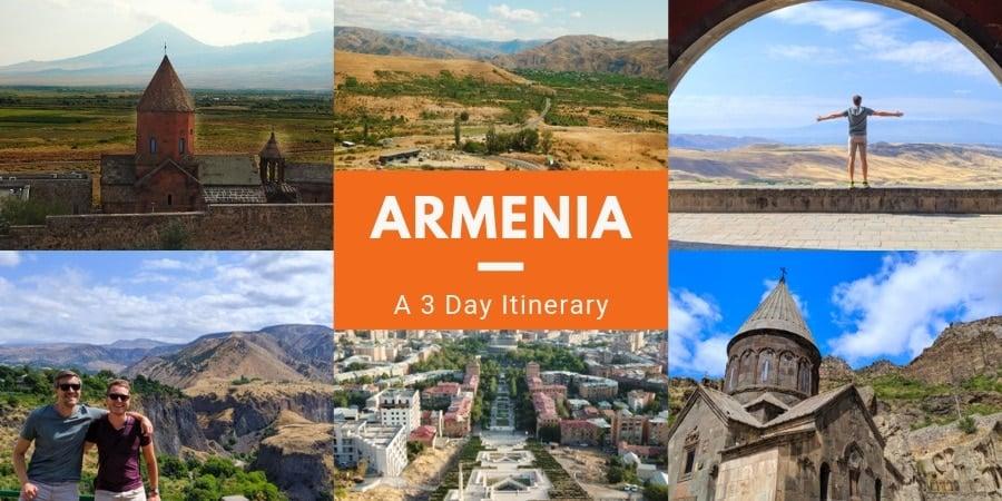Travel to Armenia from Georgia