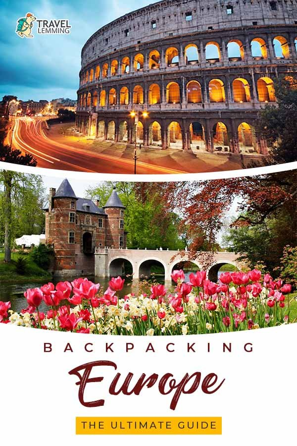Got any plans of backpacking #Europe any time soon? You've come to the right article. In this comprehensive backpacking Europe ultimate #TravelGuide, you'll learn how to plan your trip in 10 steps, backpacking itineraries, best time to backpack Europe, many more helpful #TravelTips and advice!