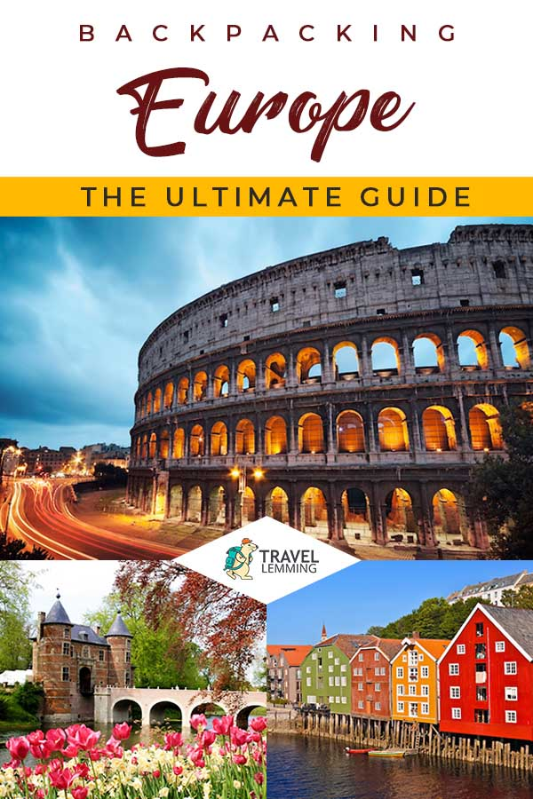 Want to plan your best backpacking #Europe trip yet? Browse through this comprehensive backpacking Europe ultimate #TravelGuide to learn how. From detailed itineraries to tips for traveling Europe on a budget, we've got you fully covered. We even included a #PackingList for your perusal.