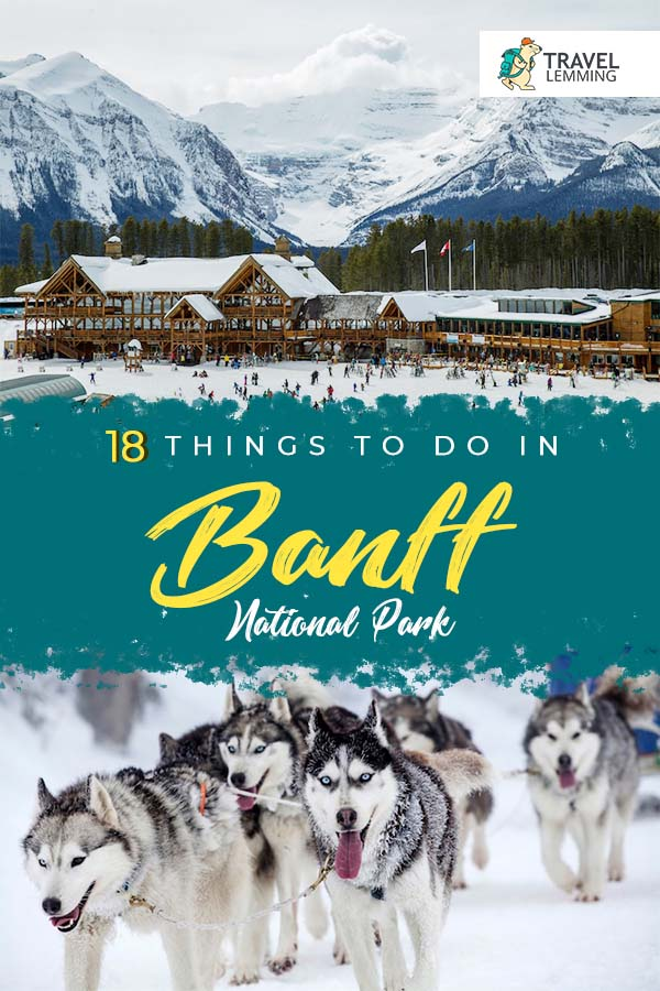 Got any plans of visiting Canada's #BanffNationalPark any time soon? Then you've come to the right article! In this comprehensive #TravelGuide, you'll get to know the best #ThingsToDo in #Banff National Park. As a bonus, we've included helpful tips such as how to get to and around Banff, as well as #WhereToStay in Banff. #Canada