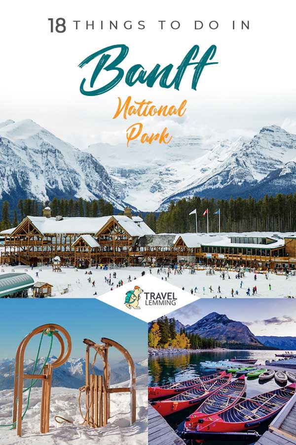 Curious to know what are the best #ThingsToDo in #BanffNationalPark? Then look no further! In this comprehensive #TraveGuide, you will discover the best activities you're sure to enjoy, the best places that will surely pique your interest, the best accommodation depending on your budget, and how to navigate your way through Banff National Park. #Canada