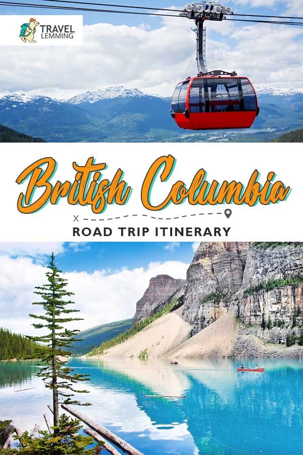 Canada's #BritishColumbia not only has an incredibly beautiful coastal region, but it's also home to the rocky mountains, glaciers, wineries, forests, ski resorts, festivals, and some of the friendliest, most laid-back people in the country. Which is we highly suggest for you to dive right into this comprehensive British Columbia #RoadTrip #ItineraryGuide to know how to get the most out of your trip to this western province in #Canada!