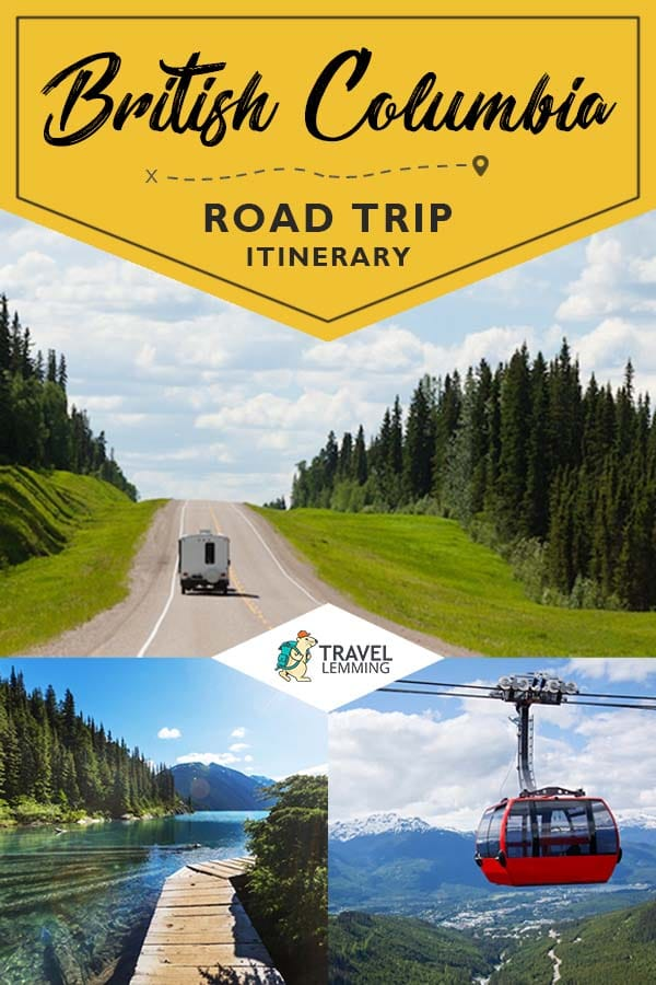 Are you ready for your next great adventure to Canada's very own #BritishColumbia? Then check out our comprehensive #ItineraryGuide to get an idea of an ideal 7 or 10 day #RoadTrip to this wonderful Canadian province. As a bonus, we've included helpful #TravelTips on renting a car, what to expect when driving in British Columbia, best time of year to visit, and accommodation options depending on your budget. #Canada #TravelGuide