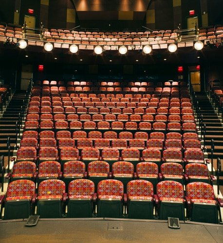 View inside the iconic theatre in Florida