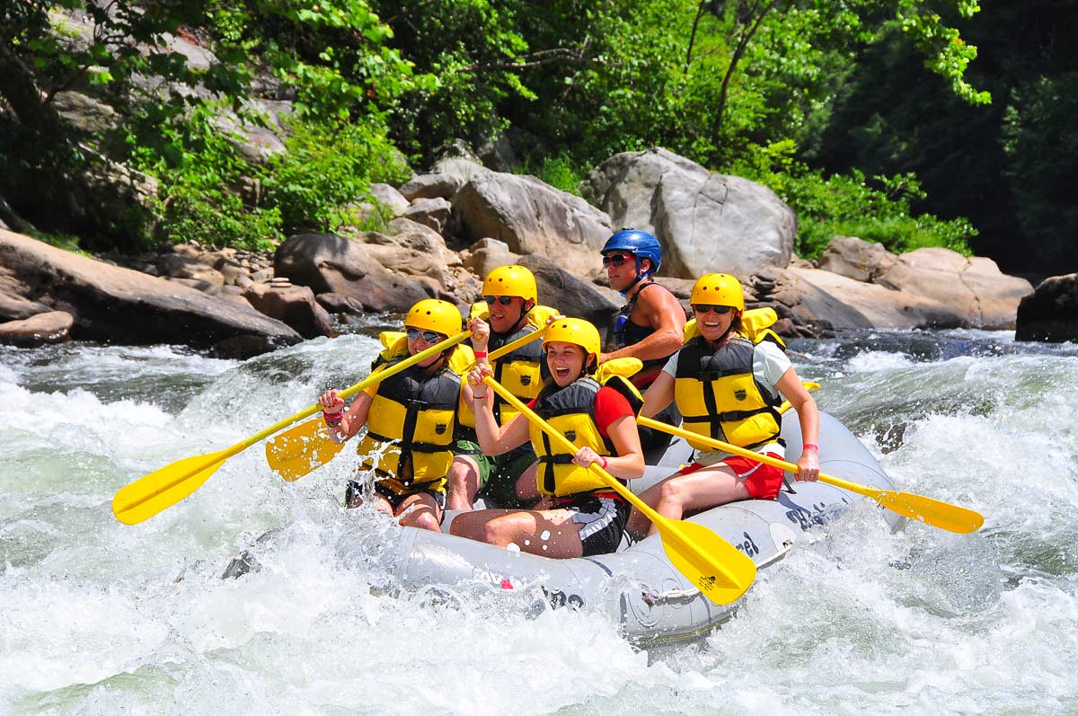 White water rafting on the Youghiogheny River