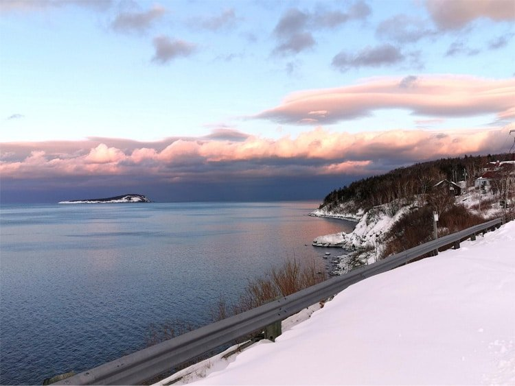 Cabot Trail Winter