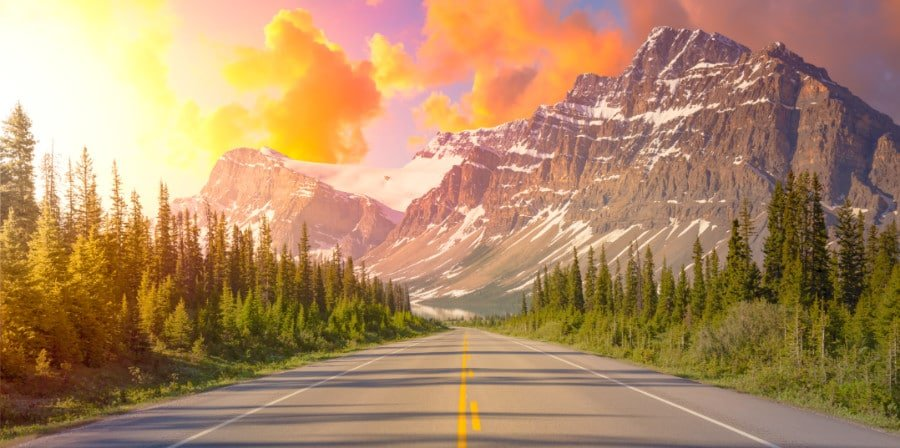 Banff National Park is one of our best road trips in Canada