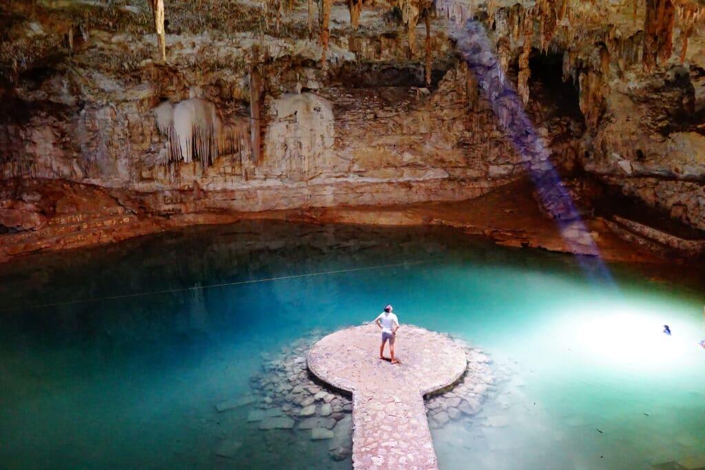 Cenote Suytun near Valladolid
