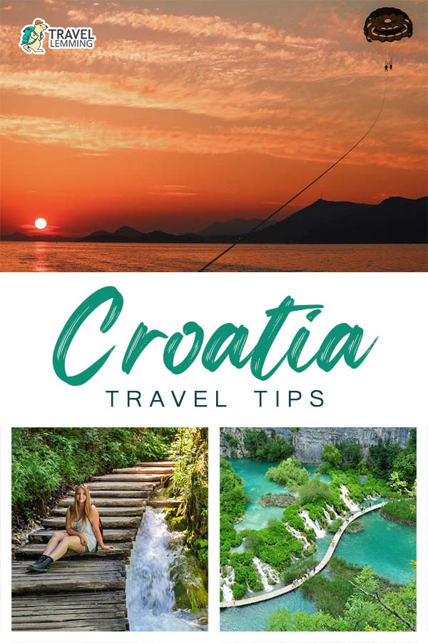 In the search for the top #Croatia #TravelTips you need to know? Then you've come to the right place! In this article, you'll get to know 15 different tips for traveling in Croatia. We cover topics such as transportation, best time to visit, tipping etiquettes, and so much more!