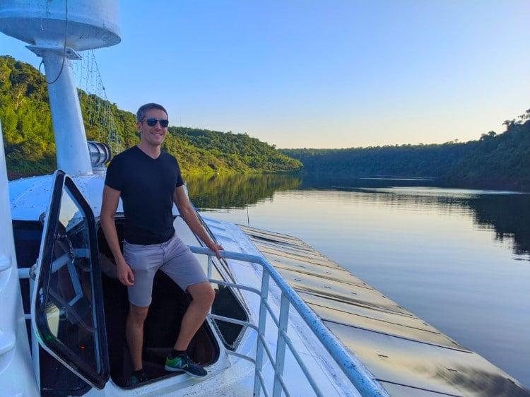 Travel Lemming on Cruceros Iguazu catamaran boat