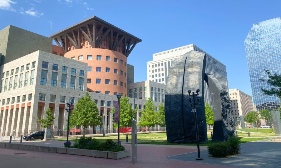 Exterior view of the Denver Public Library