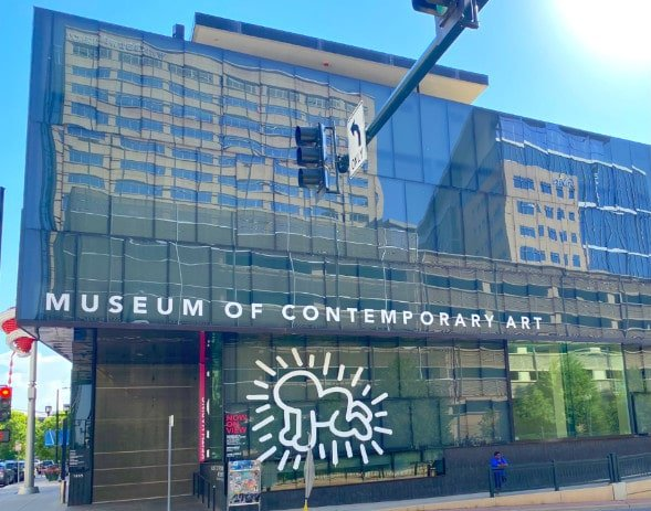 Exterior of the Museum of Contemporary Art, a top site in Denver