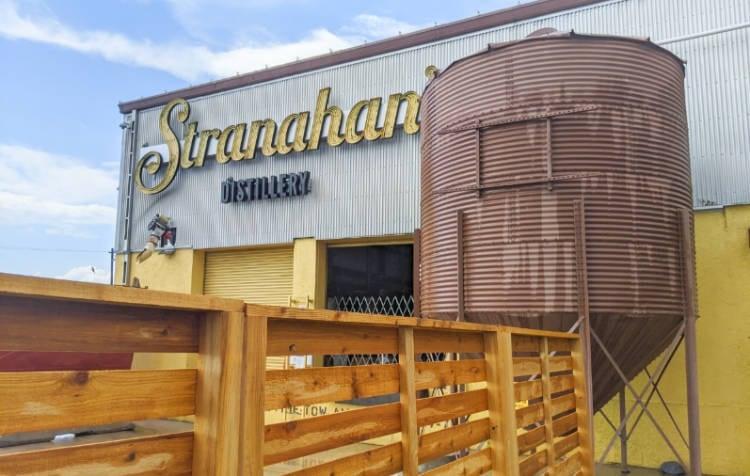 View of exterior of Stranahan's Distillery in Denver Colorado