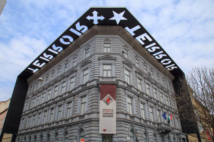 House of Terror, A Museum in Budapest Hungary