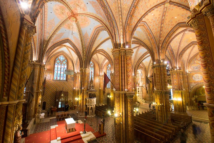 Matthias Church, a popular Budapest experience