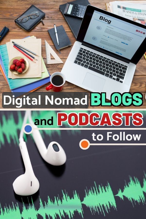 One of the best things to do if you want to pursue a #DigitalNomad lifestyle is to read a lot of digital nomad blogs and listen to a variety of digital nomad podcasts to gauge and see if this lifestyle would be a good fit for you. To make your life easier, we have compiled a list of the best digital nomad blogs and podcasts that you can check out for great advice about starting long-term travel.