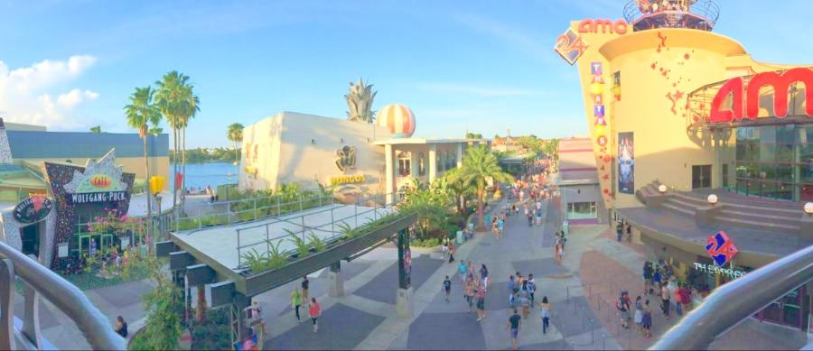 Panorama of Disney Springs