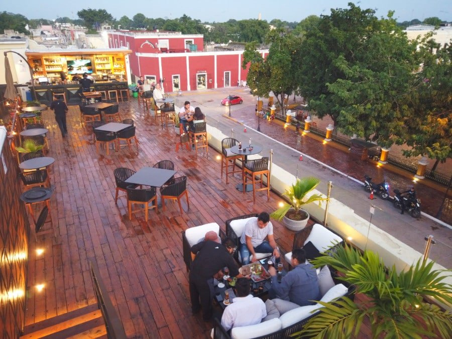 View of the Rooftop at El Meson del Marques