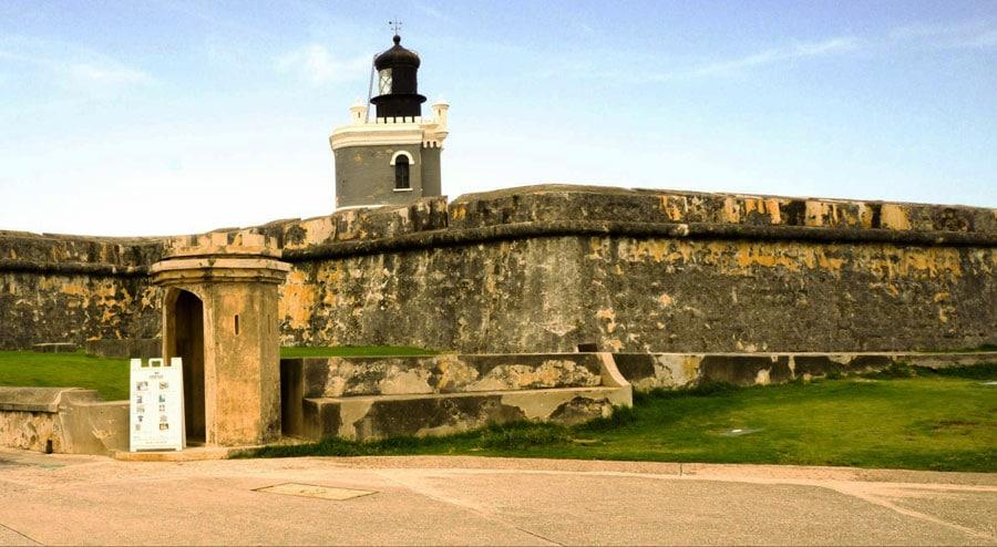 View of Castillo San Felipe del Morro