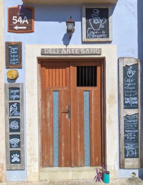 Exterior of Elela Organic Vegan Cafe