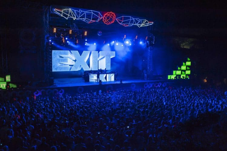 Music festival Exit Fest Novi Sad