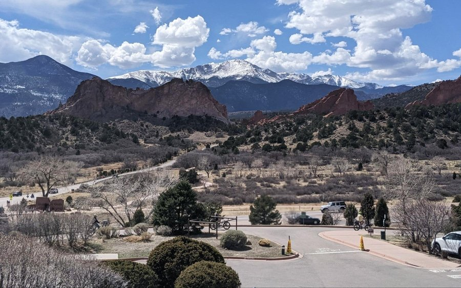 View of Garden of the Gods Park
