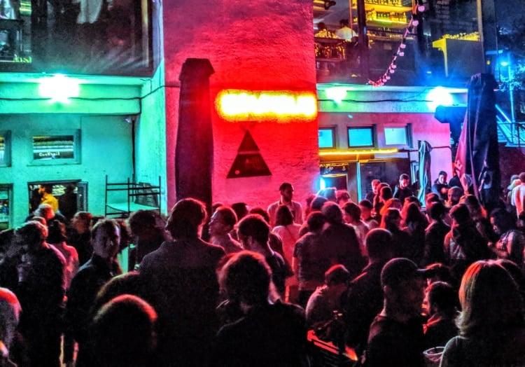 Nightclub in Tbilisi