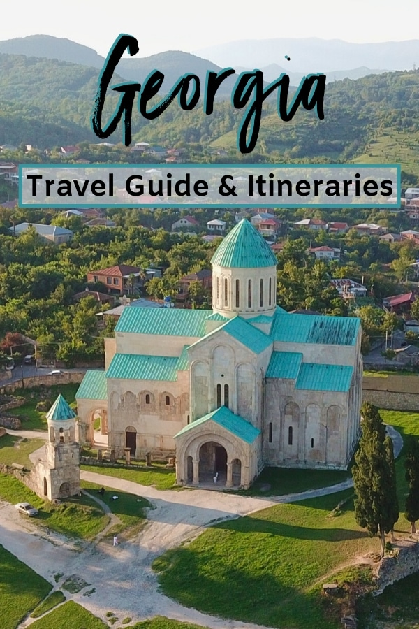Looking for a perfect #itinerary for your epic trip to the beautiful European country of #Georgia? Then look no further. This #TravelGuide will tell you where to go, what to do, how long to spend in Georgia, and different options for your Georgia travel itinerary depending on how much time you have.