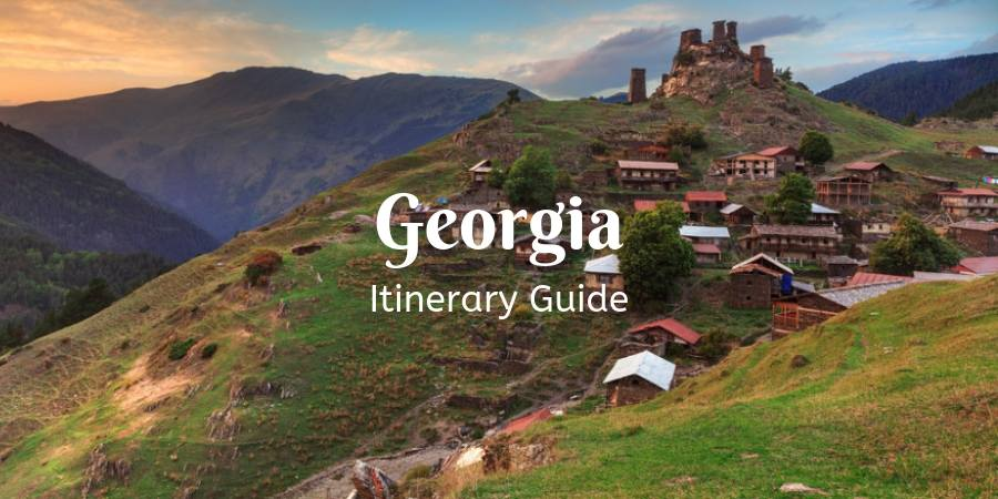 Georgia Travel Itinerary : How Many Days in Georgai