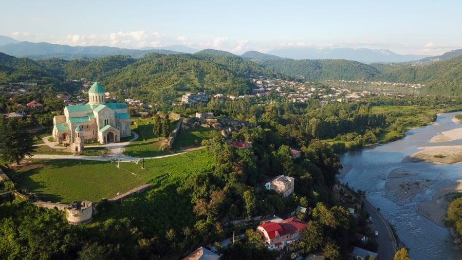 Kutaisi Georgia Drone Photo