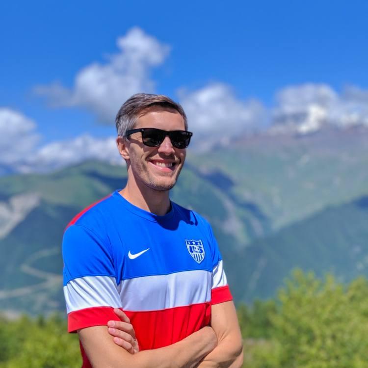 Nate the Travel Blogger in Svaneti Georgia