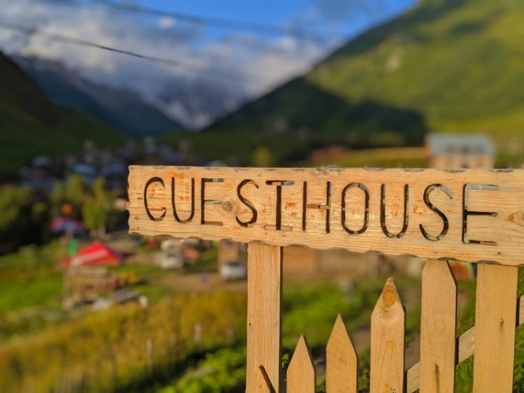 Guesthouses in Usghguli Georgia