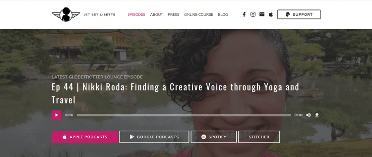 Globetrotter lounger digital nomad podcast