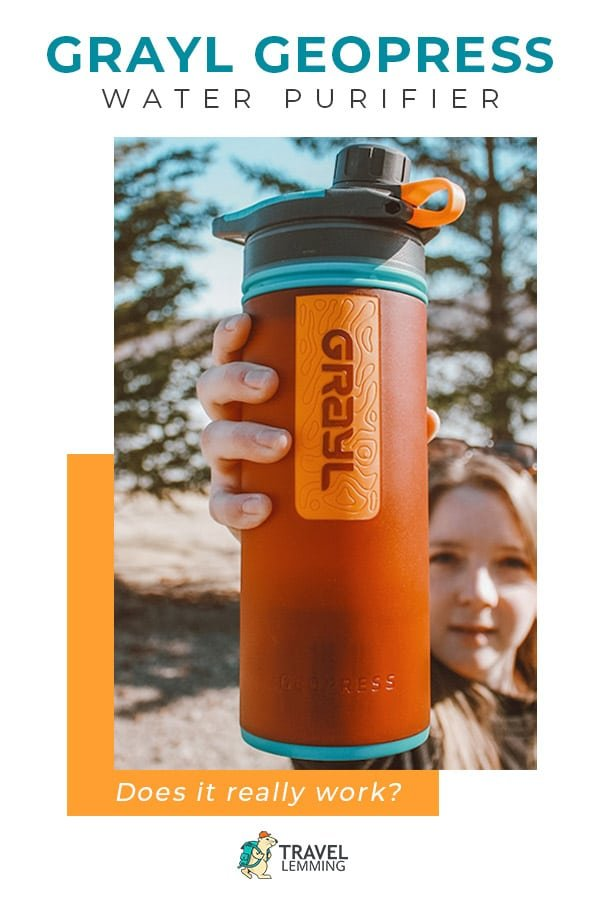 Curious if the #GraylGeopress Water Purifier is worth the hype? Then you've come to the right place. The Grayl Geopress is a near-instant water purification device that allows you to safely drink from nearly any water source. Check out our in-depth review to help you determine if the Grayl Geopress #WaterPurifier works as promised. #TravelGear