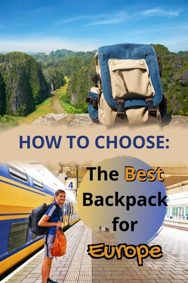 Planning to travel or to go on a #backpacking adventure to #Europe? Check out this guide on how to choose the best #backpack for Europe. From choosing a small or carry on sized bag that can fit all of your essentials to finding a backpack that you can carry around comfortably, this will help you pick the right backpack for your #EuroTrip!