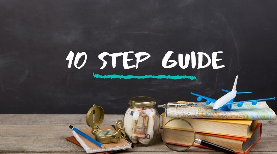 10 Steps to Getting a Travel Blog Started