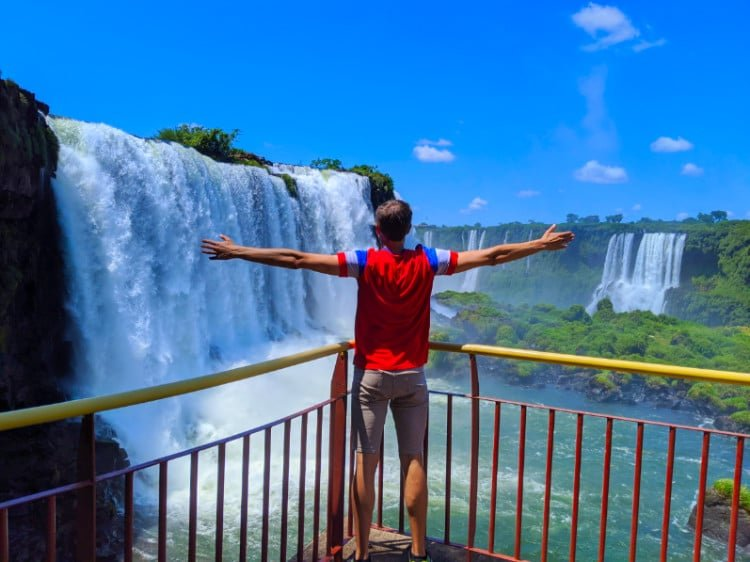 Photo of Iguazu Falls Brazil Side